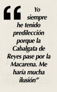 Entrevista a Don Enrique Barrero en 2004