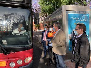 Se repite el dispositivo de control y reparto de mascarillas en el transporte público