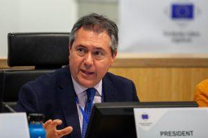 Espadas reconoce en la Eurocámara la importancia de capacitar a los gobiernos locales para hacer frente a crisis a gran escala