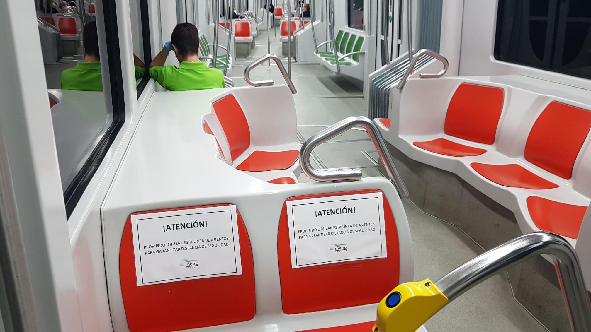 El metro recupera el día 11 los intervalos de paso previos al Estado de Alarma
