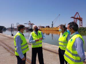 El Puerto de Sevilla podría sumarse a la red logística de la Junta