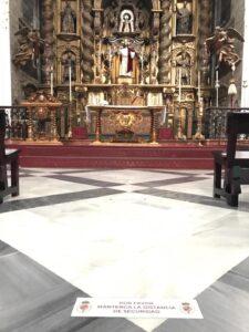 La Hermandad de La Cena recupera las Misas con 62 fieles