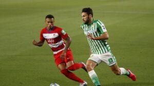 El Real Betis no pasó del empate ante el Granada