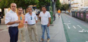 El Ayuntamiento renueva con Sando el mantenimiento de los carriles bici y prepara nuevas inversiones
