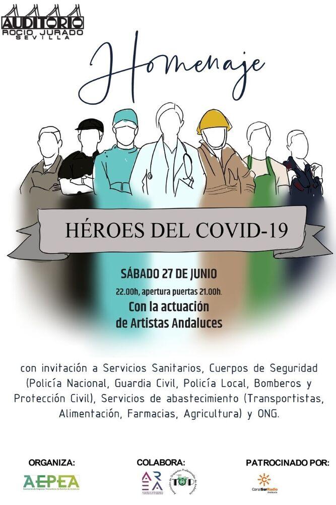 El Auditorio Rocío Jurado vuelve a la actividad con un concierto homenaje a los Héroes del Covid-19