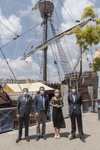 Ya puede visitarse la réplica de la Nao Victoria para conmemorar el V Centenario de la Vuelta al Mundo