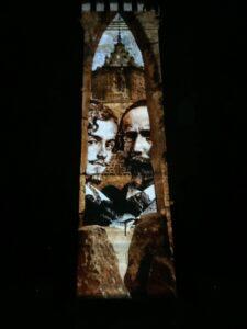 'Bécquer, la vigilia de un sueño', el mapping del verano en la Torre de Don Fadrique