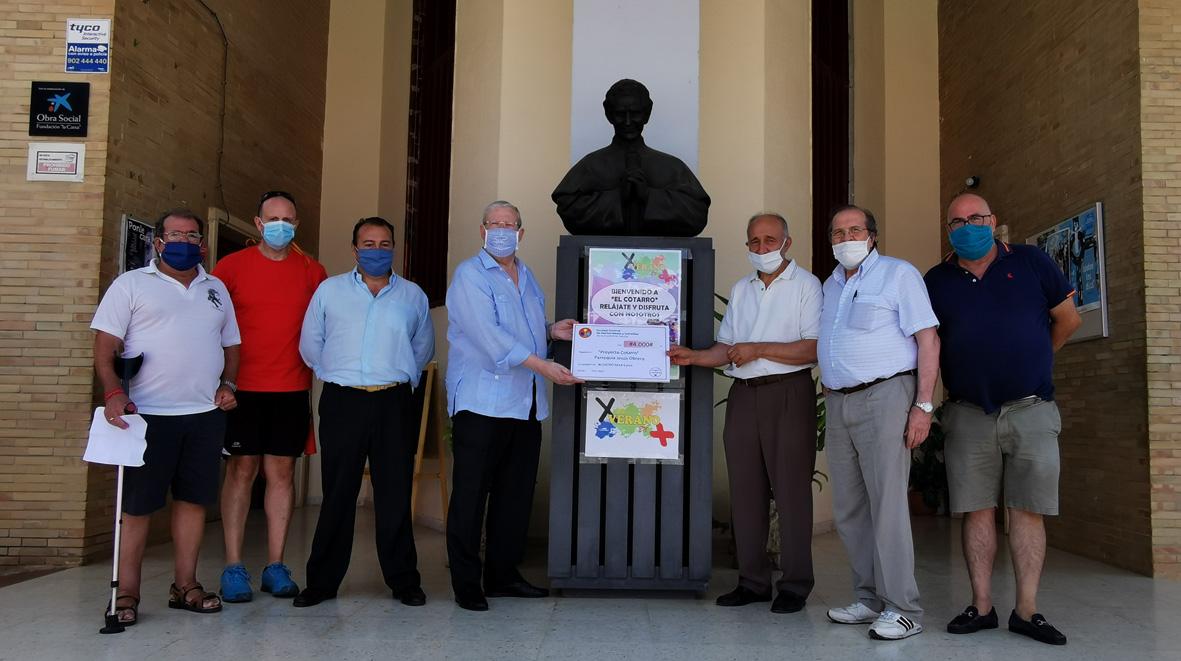 El Proyecto Fraternitas dona 10.000 euros y 25 tablets al Polígono Sur