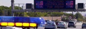 Tráfico activa mañana una campaña de control de la velocidad en la provincia de Sevilla