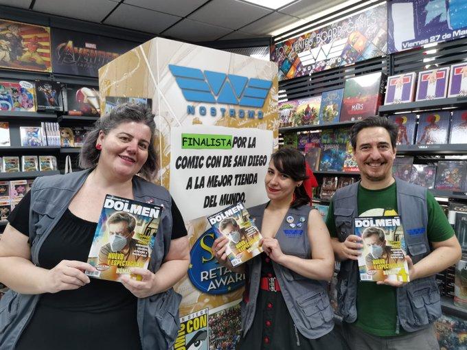 """Nostromo se lleva el """"Óscar"""" a la mejor tienda de cómics del mundo"""
