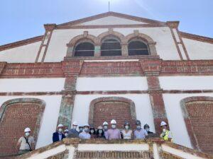 La antigua fábrica de vidrios de La Trinidad pone fin a 20 años de abandono