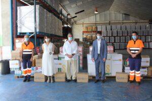 Los trabajadores de Lipasam aportan 2.340 kilos a la Fundación Banco de Alimentos de Sevilla