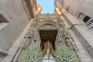 Suspendida la procesión de la Virgen de los Reyes