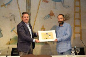 Juan Marqués recibe el X Premio Iberoamericano de Poesía 'Hermanos Machado'