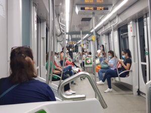 El Metro recupera la mitad de su demanda de viajeros previa al Covid-19