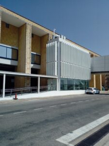 El Aeropuerto finaliza el 1º de los 5 núcleos verticales que agilizarán el embarque