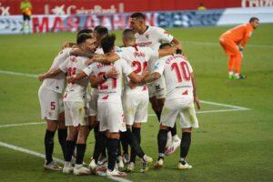 El Sevilla FC acaricia la clasificación a la Champions