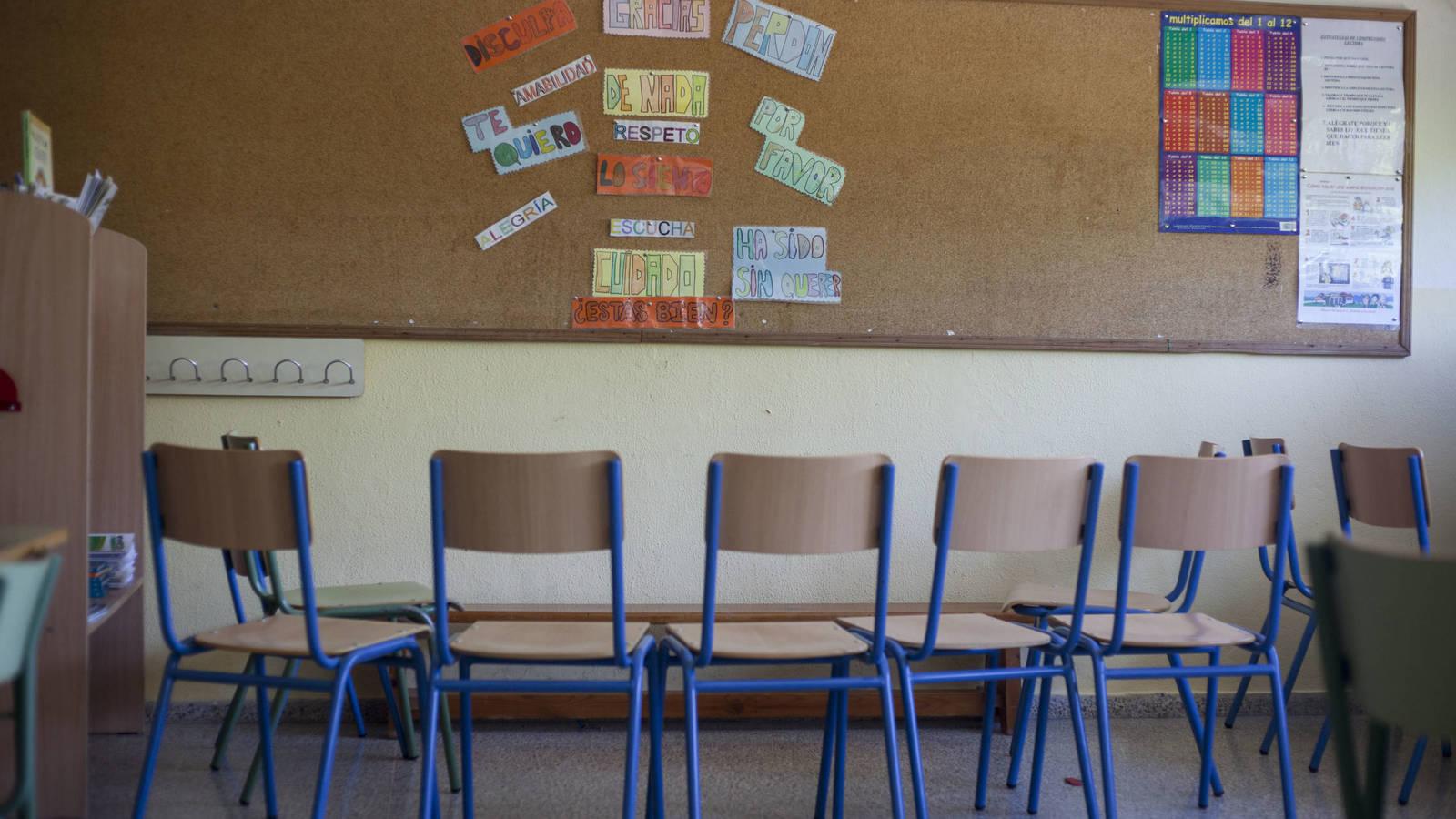 3,4 millones de euros para desinfectar los colegios