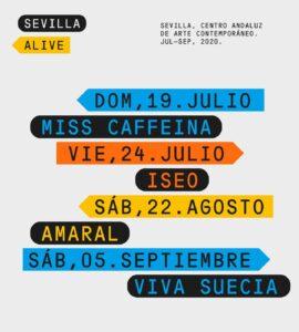 Sevilla Alive trae al CAAC a Amaral, Miss Caffeina o Viva Suecia