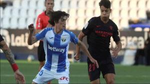 El Sevilla FC suma 3 puntos en Butarque