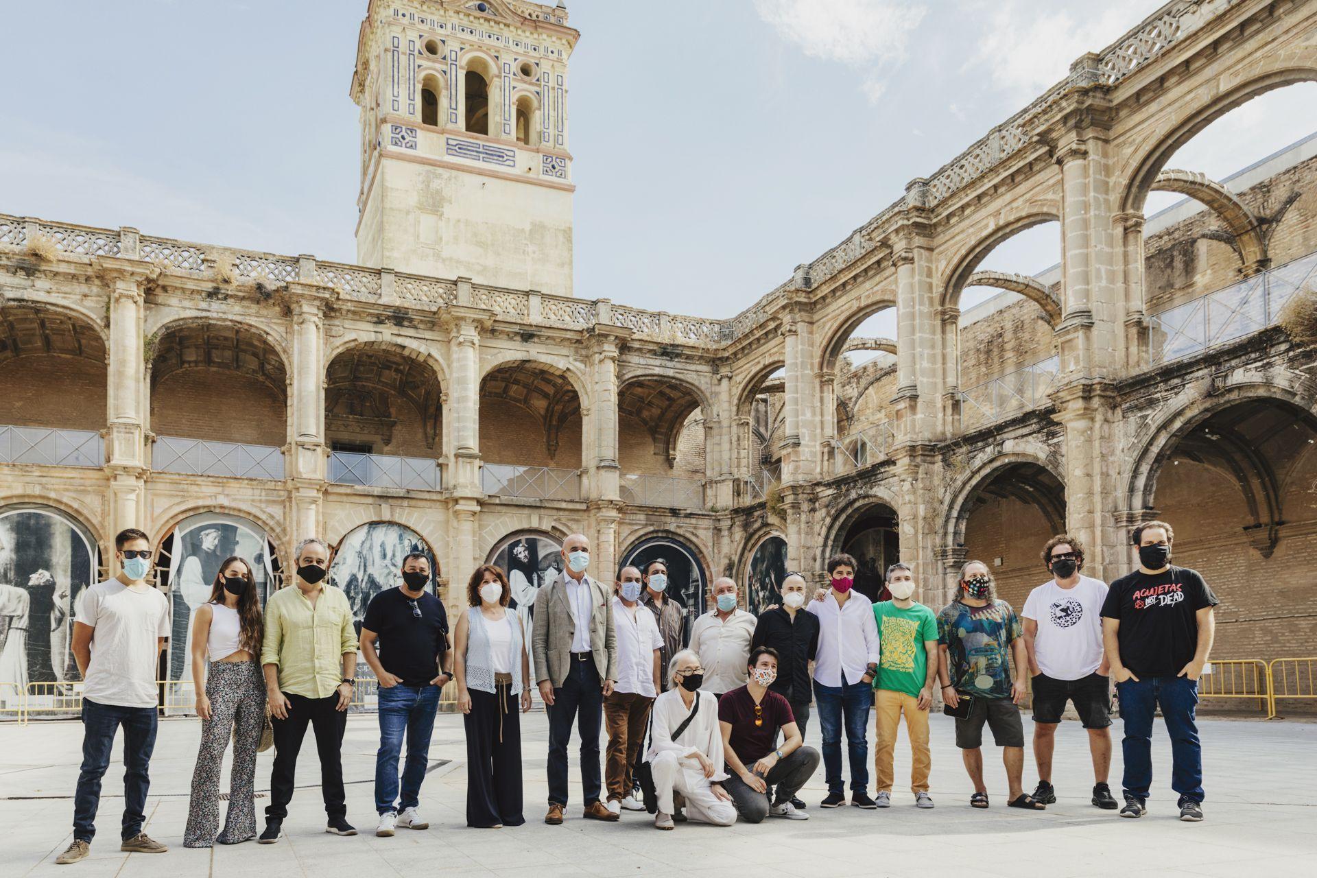 El Monasterio de San Jerónimo acoge en agosto el flamenco más experimental de la mano de la Bienal