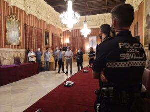 Nuevos agentes de la Policía Local destinados a los distritos Macarena, Este-Alcosa-Torreblanca y Sur