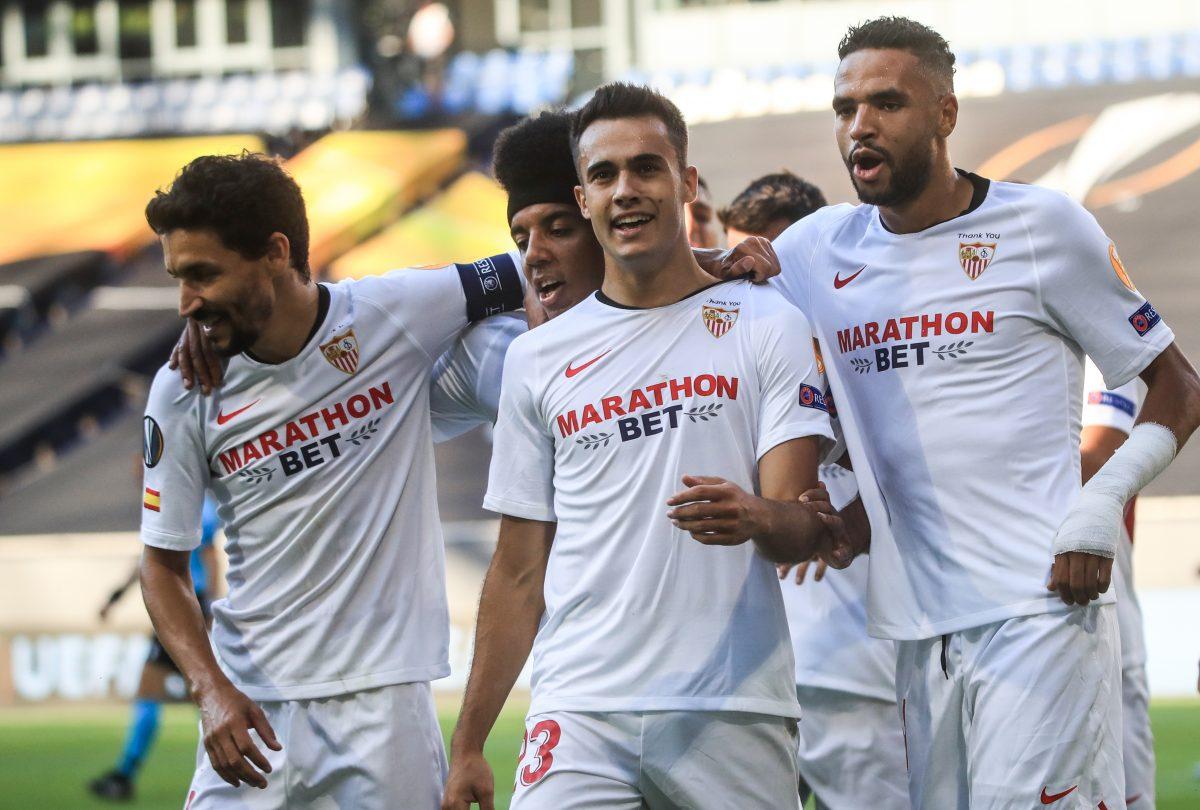 El Sevilla F.C. domina a la Roma