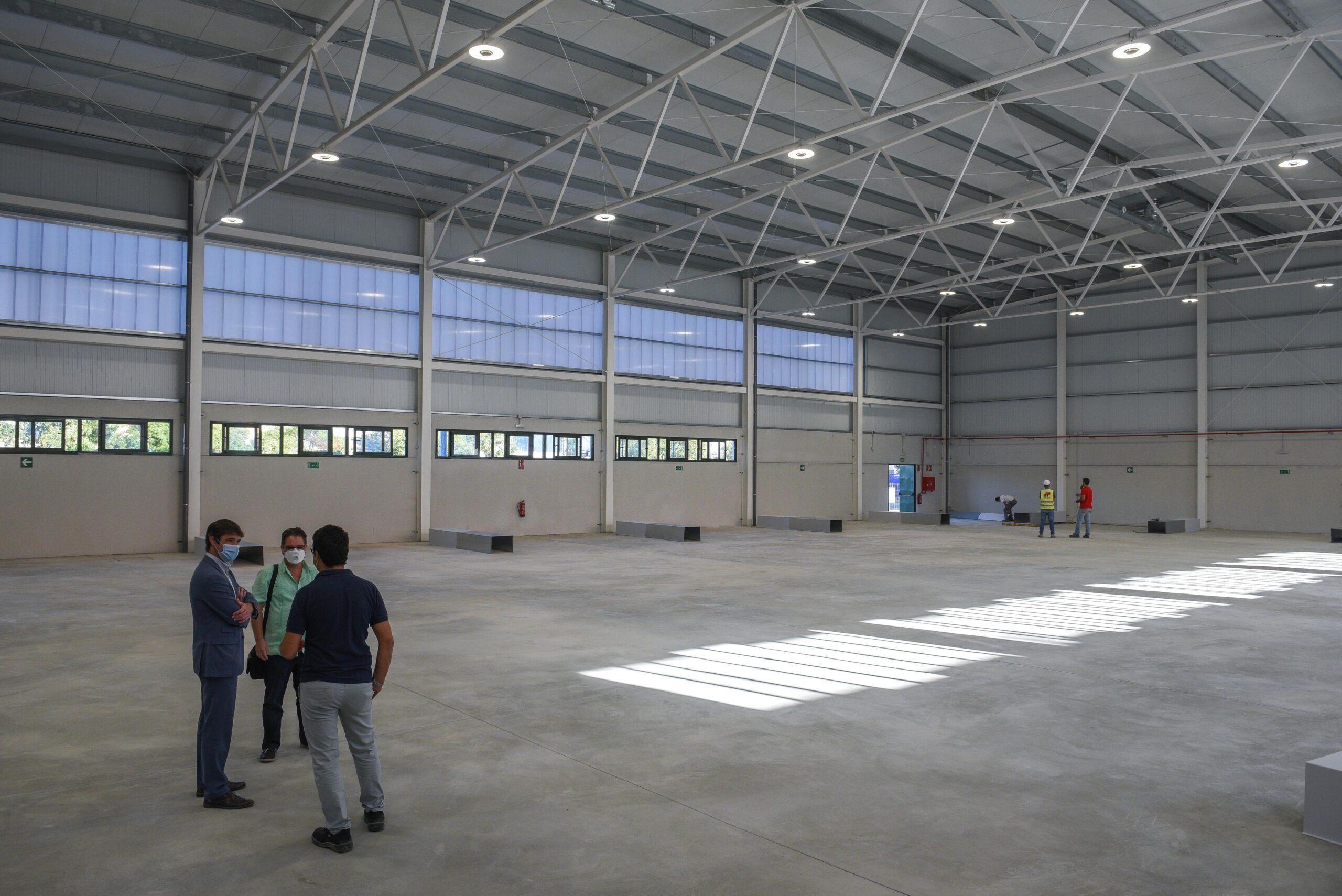 El nuevo Pabellón Deportivo de San Jerónimo estará listo en otoño