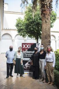 Las bailaoras toman el Teatro Central dentro de la programación de la Bienal
