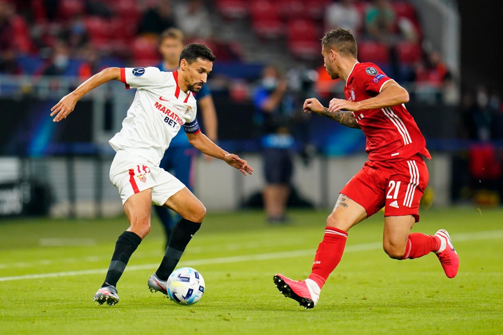 El Sevilla FC cae con honor ante el Bayern en la prórroga