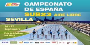 San Pablo acoge este fin de semana el Campeonato de España de Atletismo Sub23