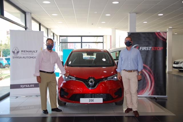First Stop recargará gratuitamente a los clientes de Syrsa Automoción que tengan vehículo eléctrico