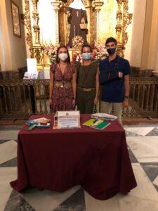 """Vuelve la campaña solidaria de recogida de material escolar de la Hermandad de Nervión en la """"vuelta al cole 2020"""""""