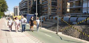 Emasesa finaliza la primera fase de las obras en la calle Santa Fe en Los Remedios