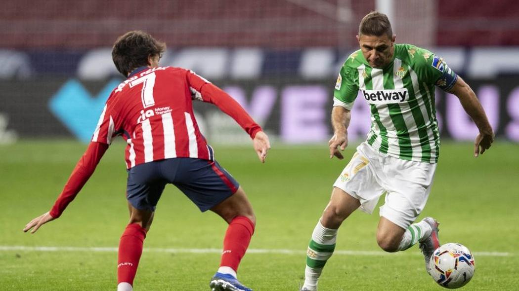 Al Betis le faltó el gol contra el Atlético