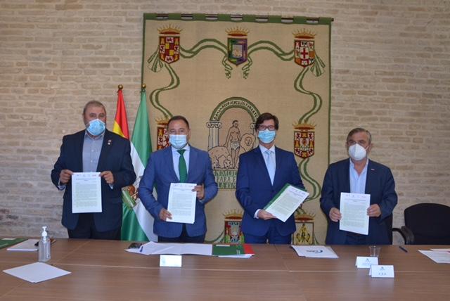 Impulso al Acuerdo para la Reactivación Económica y Social de Andalucía en Sevilla