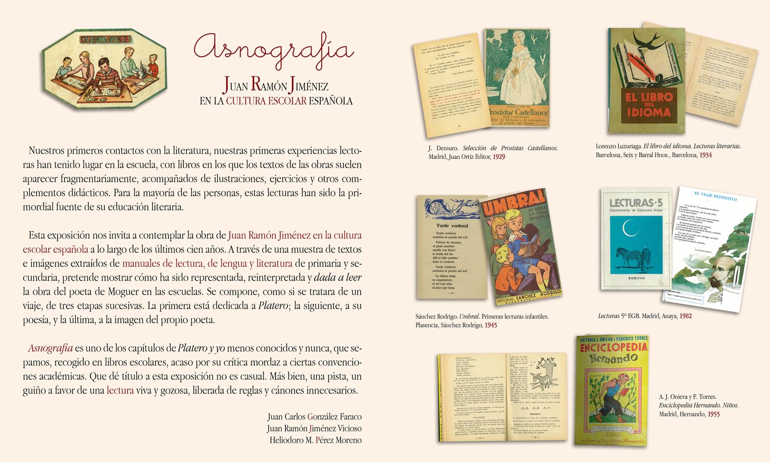 """La """"Asnografía"""" de Juan Ramón Jiménez llega al Antiquarium"""