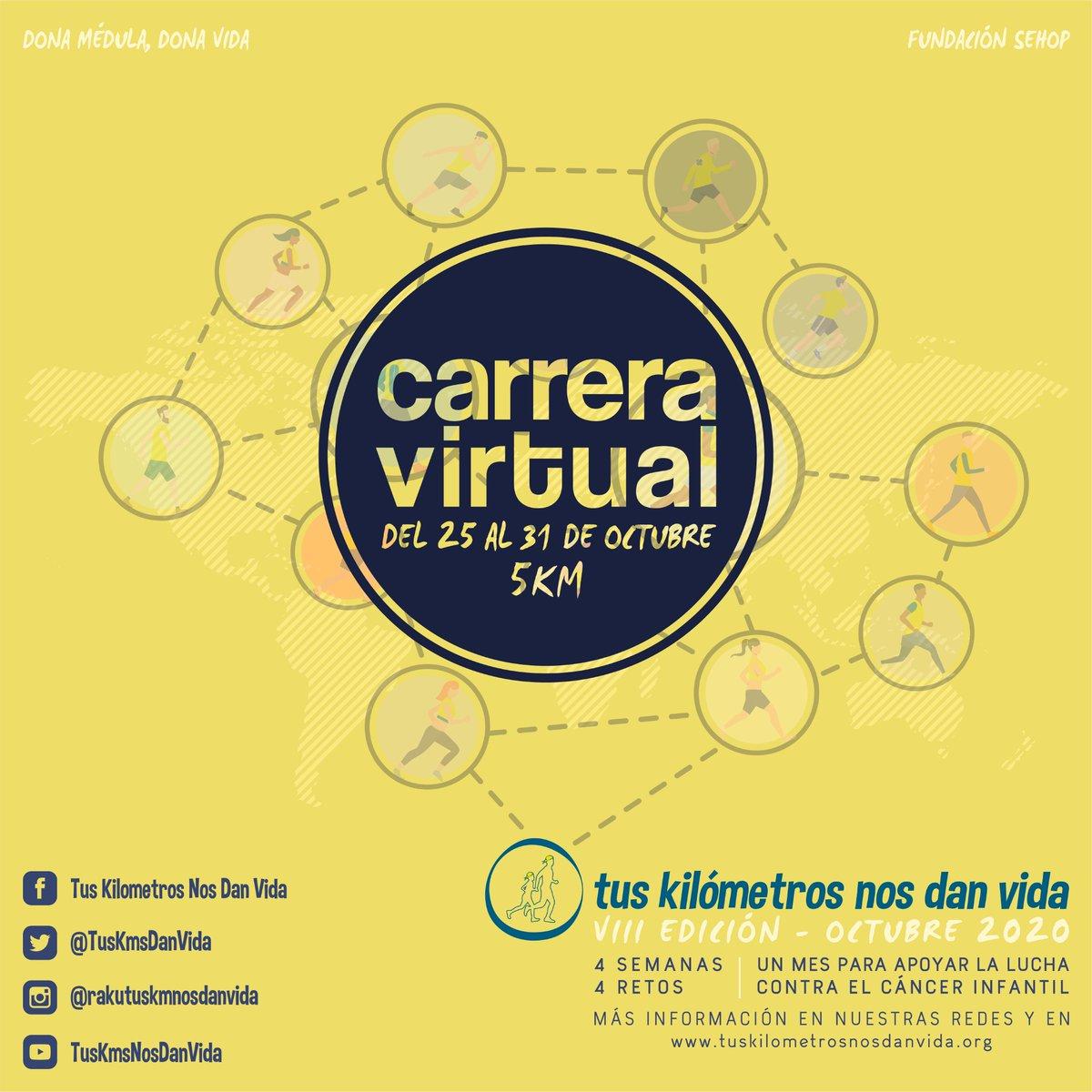 La carrera contra el cáncer infantil se celebra este año de manera virtual