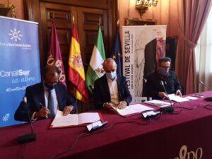 Ayuntamiento y RTVA colaborarán para la promoción y difusión de la XVII edición del Festival de Sevilla
