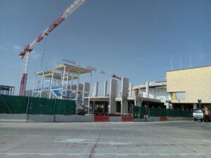 El Aeropuerto de Sevilla inicia los trabajos para ensamblar el terminal con la nueva zona sur