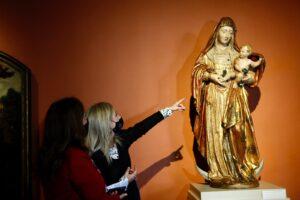 Junta y Amigos del Museo de Bellas Artes restaurarán la 'Virgen con Niño' de Roque de Balduque