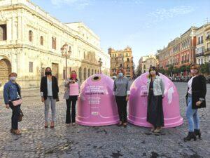 El Día Mundial contra el Cáncer de Mama se deja ver con la campaña 'Recicla vidrio por ellas'