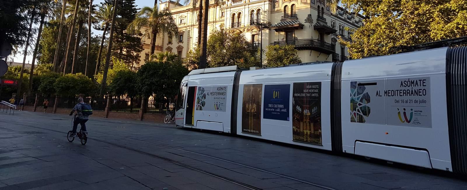 El gobierno inicia el proceso de participación con los grupos políticos en el nuevo Plan de Movilidad Urbana Sostenible de Sevilla