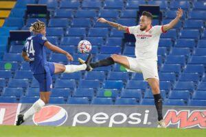 El Sevilla FC firma tablas con el Chelsea