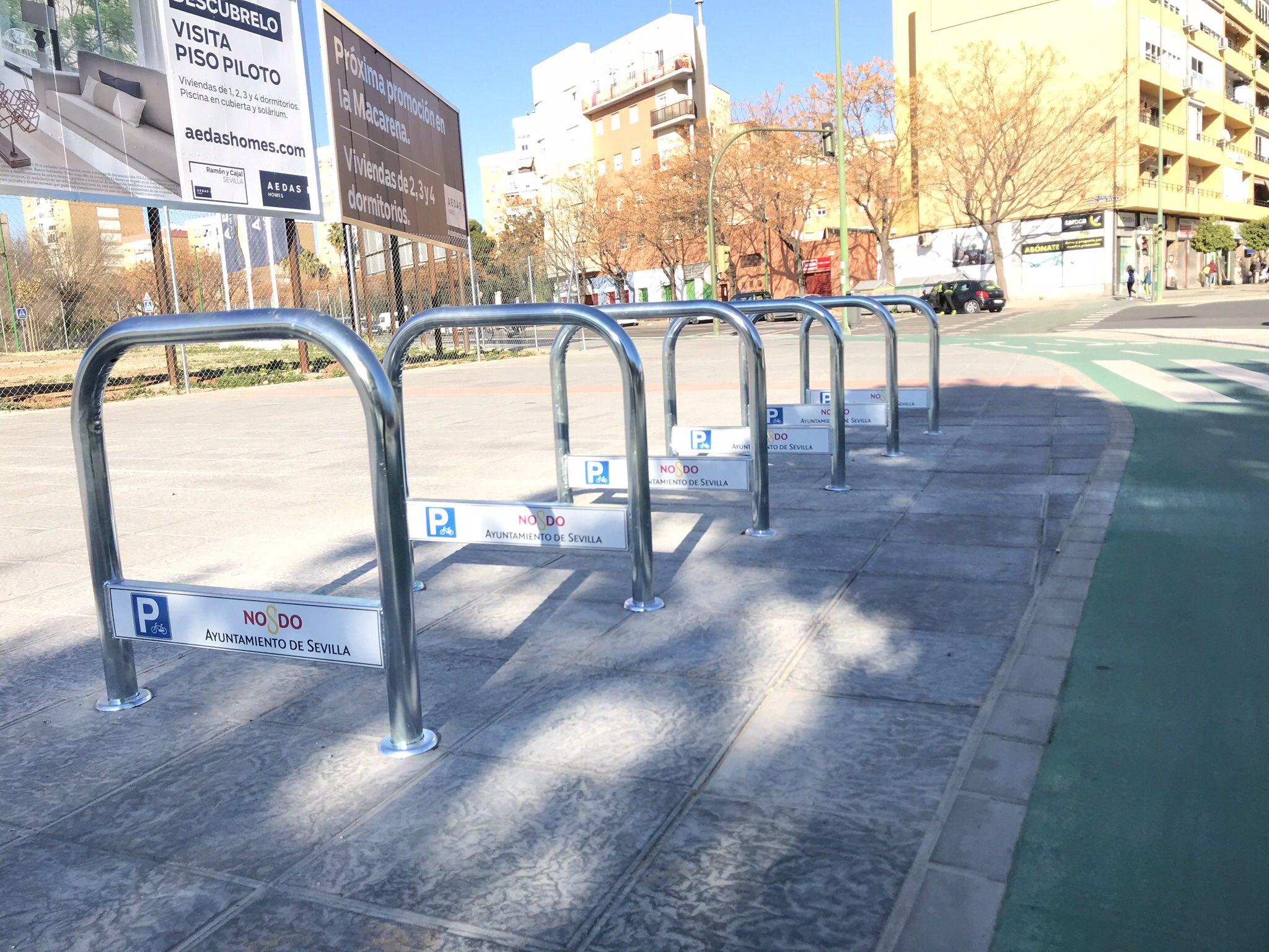 El Ayuntamiento superará las 5.000 plazas de aparcabicis con una nueva inversión para 370 unidades más