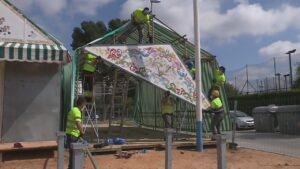 Suspendidas hasta diciembre las renovaciones de las casetas de Feria