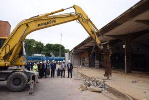 Arrancan las obras para la construcción del nuevo centro deportivo Virgen de los Reyes