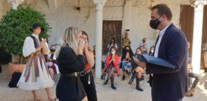 Primer premio del XVII Crea Sevilla Joven en la modalidad moda a la firma de Marta Rodríguez y Rocío Cruces: Yanasu