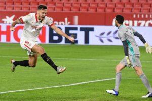 Apurada victoria del Sevilla FC ante Osasuna