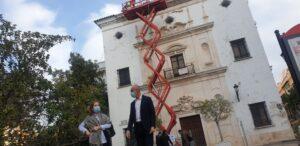 Comienzan los trabajos de conservación de la fachada de la Iglesia de San Hermenegildo